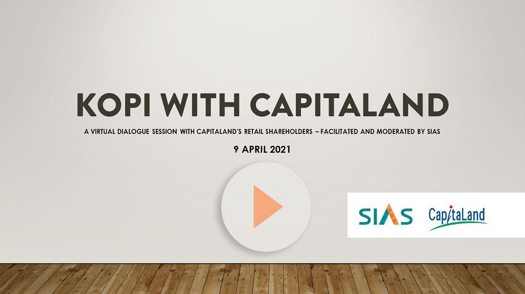 KOPI with Capitaland 2021